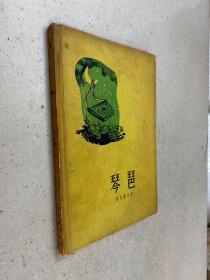 琴琶(诗集 1957年一版一印 精装本)