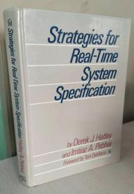 Strategies for Real-Time System Specification  【精装原版,品相佳】