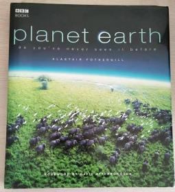 Planet Earth: As Youve Never Seen It Before(英文原版,精装本,品相佳)