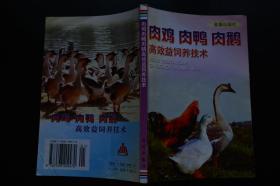 肉鸡 肉鸭 肉鹅高效益饲养技术