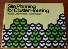 Site Planning for Cluster Housing-集束住宅的场地规划