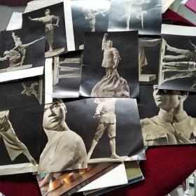 红色娘子军共15张雕塑辑