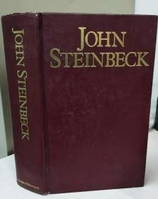John Steinbeck: The grapes of wrath, the moon is down, Cannery Row,  East of Eden, Of mice and men (约翰·斯坦贝克文集)皮面精装一厚册,品相佳