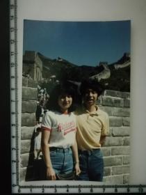 20201213-6 年代老照片  情侣 长城