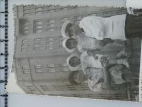 20201213-2 年代老照片 海军爸爸 双胞胎