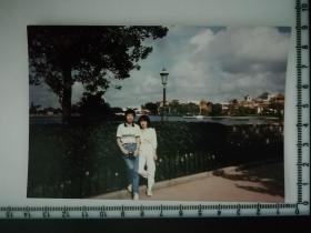 20201213-6 年代老照片  情侣 两个人腿都不直