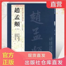 赵孟頫三3历代名家书法王冬梅繁体旁注老子道德经卷汲黯传仇锷墓