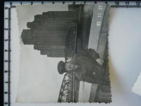 20201213-2 年代老照片 上海外滩 皮夹克 大尺寸 83年