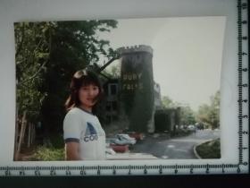 20201213-6 年代老照片  长发美女