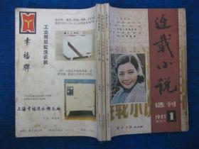【创刊号】连载小说选刊   1985年第1期(创刊)、第2期、第3期合订