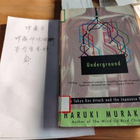 Underground:The Tokyo Gas Attack and the Japanese Psyche