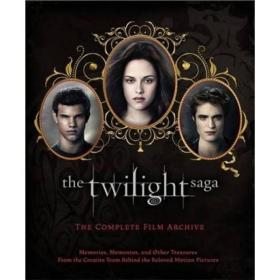 WW9781907411724微残-英文版-The Twilight Saga: The Complete Film Archive(精装)