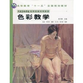 色彩教学 高天雄 人民美术出版社 9787102040172