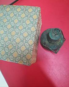 旧老铜件一个,年代自鉴