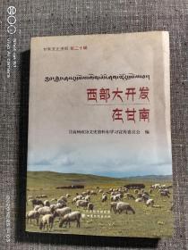 西部大开发在甘南(甘南文史资料第二十辑)
