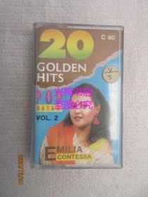 原版磁带:20 GOLDEN POP BATAK (VOL.2)