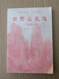 《江湖奇书、打斗宝典》新野山武道----三十六路拳专辑(品相以图片为准)