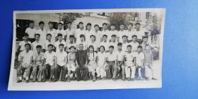 南京老照片:1960年 南京电力专科学校(南京工程学院前身)毕业时全班(力430班)的合影(尺寸:15*8cm)!