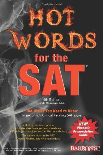 Hot Words for the SAT (Barron's Hot Words for the SAT)