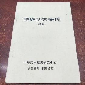 特绝功夫秘传(续集)