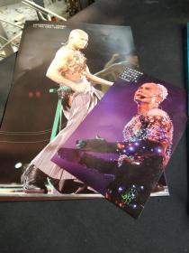 买满就送  杂志切页两张  郭富城舞台造型