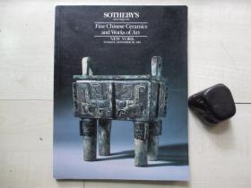 1991年苏富比索斯比(Sotheby's)拍卖图录:中国瓷器艺术品