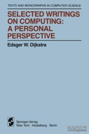 Selected Writings on Computing:A personal Perspective