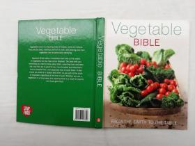 Vegetable BIBLE  FROM THE EARTH TO THE TABLE;LOVE FOOD TM;大16开qt