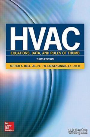 Hvac Equations, Data, and Rules of Thumb