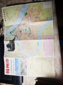 赣州交通游览地名图