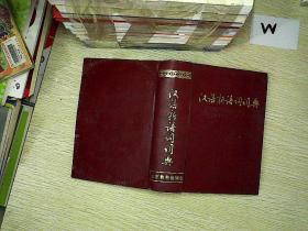 汉语新语词词典..