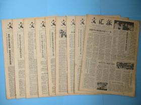 生日报 文汇报1979年6月2日3日4日5日6日7日8日9日10日报纸(单日价格)