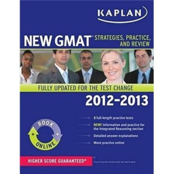 Kaplan New GMAT: Strategies, Practice, and Review (Kaplan Gmat)