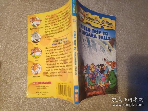 Geronimo Stilton #24: Field Trip to Niagara Falls  老鼠记者24:尼亚加拉大瀑布 英文原版