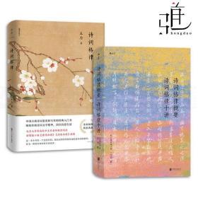 2本 诗词格律+诗词格律概要-诗词格律十讲 王力 校订重排 诗歌词曲 中国古诗词 文学书籍 平仄的变格 五言律诗和长律 古典文学理论