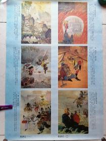 西游记年画(二套一张)