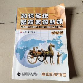 知识系统图解表解新编:高中历史地理(修订版)