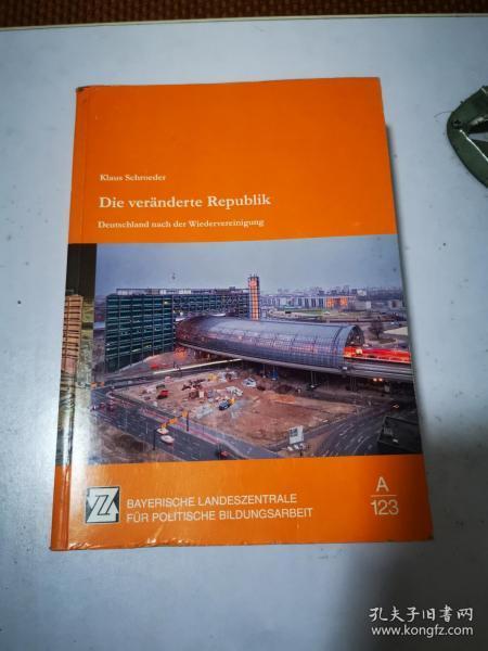 Die veranderte Republik 变更后的共和国 德文原版