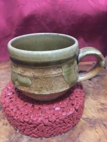 名家手工打造陶茶杯(日本)