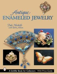 Antique Enameled Jewelry