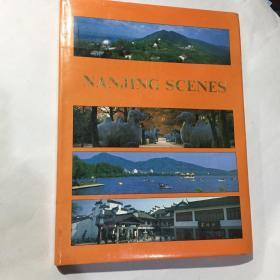 南京风光 彩版外文版画册 1988年印16开精装