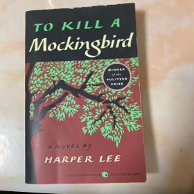 To kill a mockingbird  杀死一只知更鸟 英文原版2002
