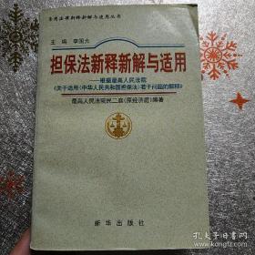 担保法新释新解与适用(正版厚册)