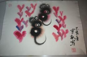 中国美术家协会会员赵宇敏老师手绘作品(卡纸31)