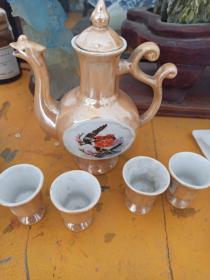678瓷器,酒具,酒壶,酒杯。