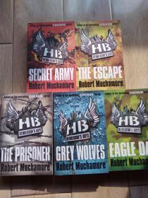 CHERUB:Henderson's Boys:Eagle Day,Gery Wolves,The Escape,Secret Army,The Prisoner 5本合售