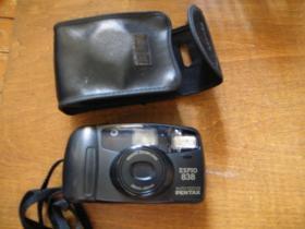 宾得ESPIO838胶卷相机38-80变焦镜头(原装皮套)