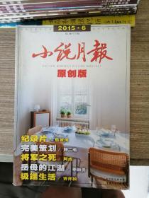 小说月报原创版 2015第6期
