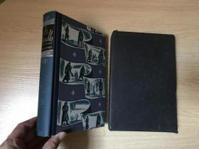 (配书匣)Les Miserables  雨果《悲惨世界》,卷二(全套2卷),美国著名木刻版画家Lynd Ward 插图,Heritage Press 出版,精装大32开,重超1公斤,1938年老版书
