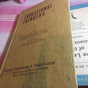 EDUCATIONAL THINKERS 布面精装